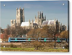 Acrylic Print featuring the photograph English Train by Andrew  Michael