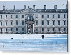 Acrylic Print featuring the photograph English Winter by Andrew  Michael