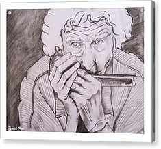 Enjoying Life Acrylic Print by Pratik Koli