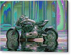 Enough Rain Already Acrylic Print by Wayne Bonney