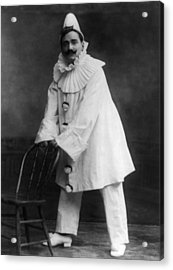 Enrico Caruso 1873-1921, As The Clown Acrylic Print by Everett