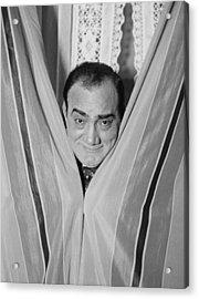 Enrico Caruso 1873-1921, Smiling Acrylic Print by Everett