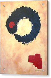 Enso Abstract Acrylic Print