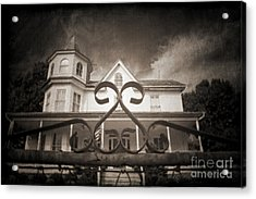 Enter If You Dare Acrylic Print by Jane Brack
