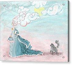 Enter Lady Spring Acrylic Print