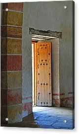Enter Life Acrylic Print by Peter  McIntosh