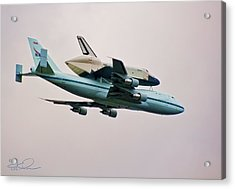Enterprise 6 Acrylic Print by S Paul Sahm