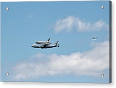 Enterprise Flyby Acrylic Print