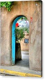Entrance Acrylic Print by Stellina Giannitsi
