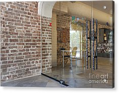 Entrance To A Traditional Music Center Acrylic Print by Jaak Nilson