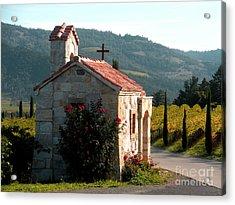 Entrance To Amorosa Acrylic Print by Gail Salituri