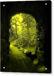 Entrance To Fairyland Acrylic Print by Maria Scarfone