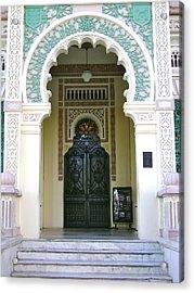 Entrance To Palacio De Valle Acrylic Print by Laurel Fredericks