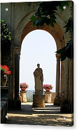Acrylic Print featuring the photograph Entrance To The Terrace Of The Infinity by Vikki Bouffard