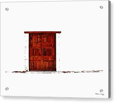 Entrance Acrylic Print by Xoanxo Cespon