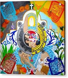 Epocalypto Acrylic Print by Guadalupe Herrera