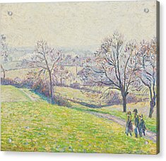 Epping Landscape Acrylic Print by Camille Pissarro