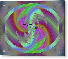 Equilibrium Acrylic Print by Tim Allen