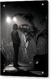 Eric Clapton Acrylic Print by Mike Norton