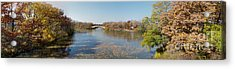 Acrylic Print featuring the photograph Erie Canal Panorama by William Norton