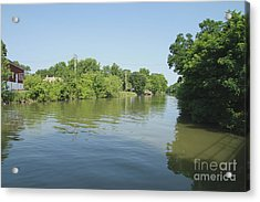 Acrylic Print featuring the photograph Erie Canal by William Norton