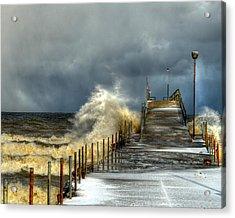 Erie Storm Acrylic Print