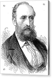 Ernest Giles (1835-1897) Acrylic Print by Granger