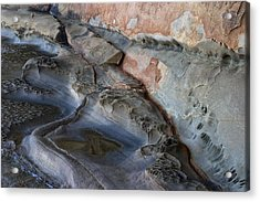 Eroded Rock Formation 7 Acrylic Print