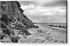 Erosion Bw Acrylic Print