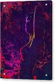 Erotic Fog Acrylic Print by Steve K