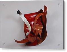 Erotic Swells Acrylic Print by Mac Worthington