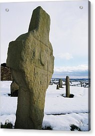 Errigal Keerouge Cross, St Kierans Acrylic Print by The Irish Image Collection
