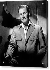 Errol Flynn, 111943 Acrylic Print by Everett