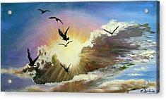 Erupting Sky Acrylic Print