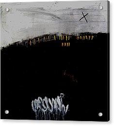 Eruption  Vii Acrylic Print by Jorgen Rosengaard