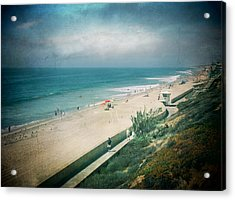 Escape For A Day Acrylic Print by Laurie Search