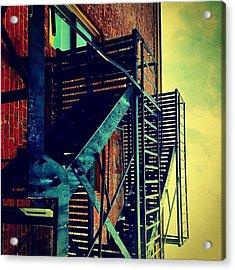 Escape To The Sky Acrylic Print