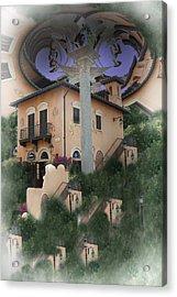 Escher's Dream Acrylic Print by Nina Fosdick
