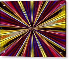 Esme Acrylic Print by Danny Lally