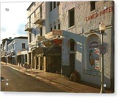 Espanola Way, Photograph By Walter Acrylic Print by Everett