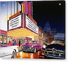 Esquire Theater Acrylic Print
