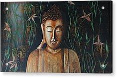 Essence Of Tranquility Acrylic Print by Tanuja Chopra