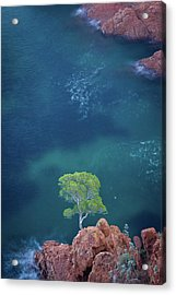 Esterel Mountains Acrylic Print by LP photographie