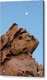 Etched In Stone Acrylic Print