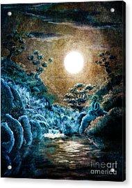 Eternal Buddha Meditation Acrylic Print