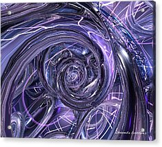 Eternal Depth Of Abstract Fx  Acrylic Print by G Adam Orosco