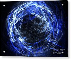 Acrylic Print featuring the digital art Eternal by Kim Sy Ok