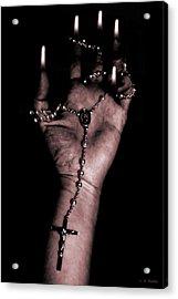 Acrylic Print featuring the photograph Eternal Struggle by Lauren Radke