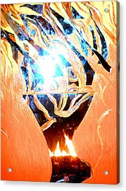Eternal Torch Acrylic Print by Tyler Schmeling