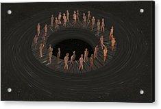 Eternity Ring Acrylic Print by Eric Kempson
